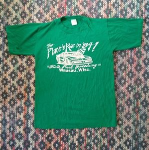 Vintage State Park Speedway t shirt